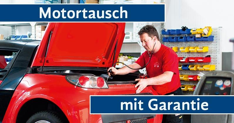 Motortausch mit Garantie - Guido vom Grafen